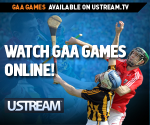 GAA season pass on UStream.tv